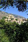 France, Corsica, Corte.