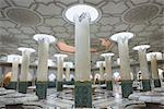 Interior of Hassan II Mosque, Casablanca, Morocco