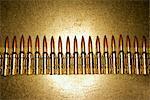 Ceinture de munitions de 12,7 mm