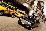 Vehicles on the road, Broadway, Manhattan, New York City, New York State, USA