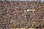 Soccer Fans at Centenario Stadium, Montevideo, Uruguay