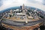 Aerial View of Atlanta, Georgia, USA