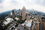 Aerial View of One Atlantic Center, Atlanta, Georgia, USA