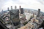 Aerial View of Centennial Tower, Atlanta, Georgia, USA