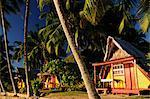 Beach at Hauru Point, Moorea, Society Islands, French Polynesia South Pacific