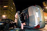 Véhicules impliqués dans l'Accident de voiture