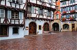 Old Town of Colmar, Haut-Rhin, Alsace, France
