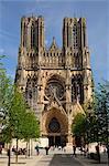 Notre Dame de Reims, Reims, en Champagne, France