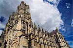 Notre Dame de Reims, Reims, Champagne, France