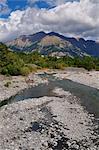 Vallee de l'Ubaye, Alpes-de-Haute-Provence, France