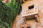 Balcony at Juliet's House, Verona, Veneto, Italy