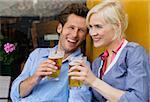 Couple à la bière