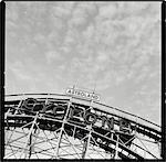 Cyclone Roller Coaster, Coney Island, Brooklyn, New York, USA