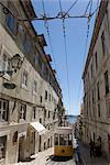 Street Tram, Lisbon, Portugal