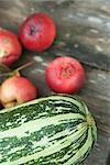 Moelle courge et aux pommes