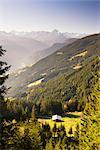 Zillertal High Alpine Road, Zillertal, Tyrol, Austria