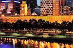 Flinders Street Station, Melbourne Central Business District, Yarra River, Melbourne, Victoria, Australia