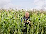 Agriculteur dans le domaine de la culture