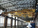 Ingénieurs au-dessus de Turbine Hall