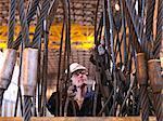 Ingénieur inspection des câbles