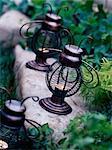 Garden Tea Light Holders
