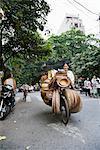 Fournisseur de panier en Street, Old Quarter, Hanoi, Vietnam