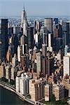 New York City Skyline, Upper East Side, New York, USA