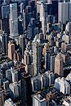 Aerial View of Manhattan, Upper East Side, New York City, New York, USA