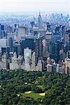 Manhattan Skyline and Central Park, New York City, New York, USA
