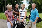 Couples au parcours de Golf, Burlington, Ontario, Canada
