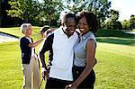 Couples on Golf Course, Burlington, Ontario, Canada
