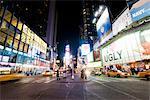 Times Square at Night, Manhattan, New York City, New York, USA