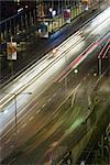 Sentiers légers de Suède, Stockholm, sur la rue la nuit
