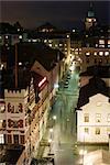 Suède, Sodermanland, Stockholm, Slussen nuit