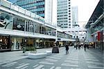 Schweden, Stockholm, gehobenen outdoor-Einkaufszentrum