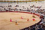 Bullfight at Plaza de Toros de las Ventas, Madrid, Spain