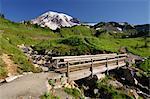 Mount Rainier, Mount Rainier National Park, Pierce County, Cascade Range, Washington, USA