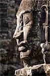 Temple du Bayon, Angkor Thom, Cambodge