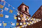 Church of San Pedro, Tzurumutaro, Michoacan, Mexico