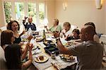 Family Having Lunch