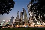 Shanghai au crépuscule, Chine