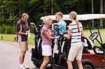 People Golfing, Burlington, Ontario, Canada