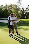 Men Playing Golf, Burlington, Ontario, Canada