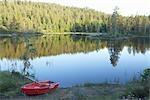 Ruderboot von See, Norwegen