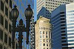 Ville architecture, San Francisco, Californie, États-Unis d'Amérique, l'Amérique du Nord