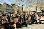 Marché du samedi, Ville Basse, Carcassonne, Aude, Languedoc, France, Europe