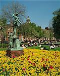 Park Square, Leeds, Yorkshire, Angleterre, Royaume-Uni, Europe