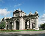 Porte d'Alcala, Madrid, Espagne, Europe