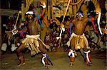 Spectacle culturel zoulou près d'Eshowe, Saakaland (Shakaland), Afrique du Sud