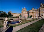 Die Wasser-Terrasse-Garten, Blenheim Palace, UNESCO Weltkulturerbe, Oxfordshire, England, Vereinigtes Königreich, Europa
